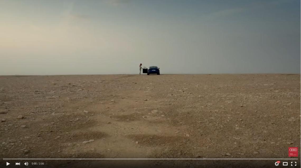 Der Audi RS7 in einer ungleichen Challenge.