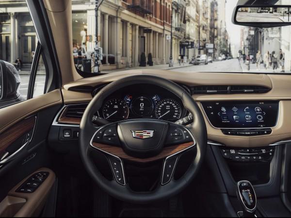 4x4Schweiz-News: Cadillac XT5, Cockpit