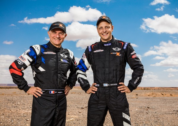 4x4Schweiz-News: MINI benennt die internationalen Fahrerpaarungen des MINI ALL4 Racing für die Rallye Dakar 2016: Mikko Hirvonen (FIN) Michel Périn (FRA) - MINI ALL4 Racing – X-raid Team – Dakar 2016 (11/2015)