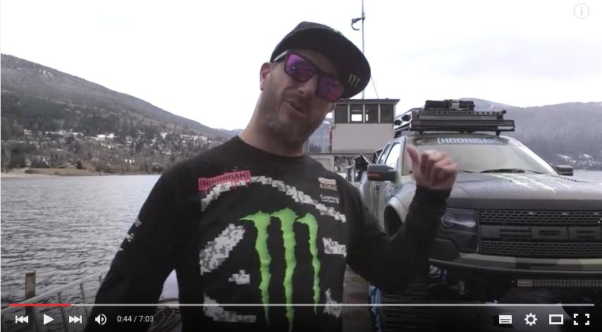 Ken Block verrät uns, was es mit dem Ford F-150 RaptorTrax auf sich hat…