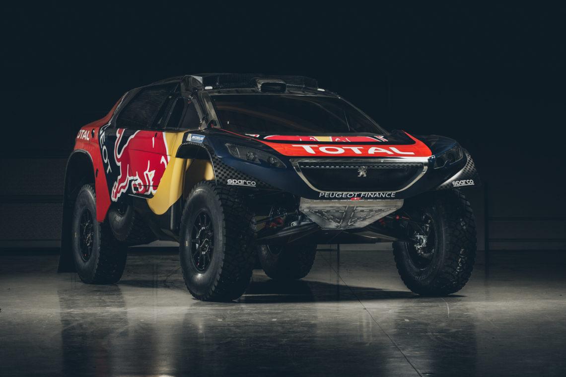 Peugeot hat den 2008 DKR für die Rallye Dakar 2016 grundlegend überarbeitet