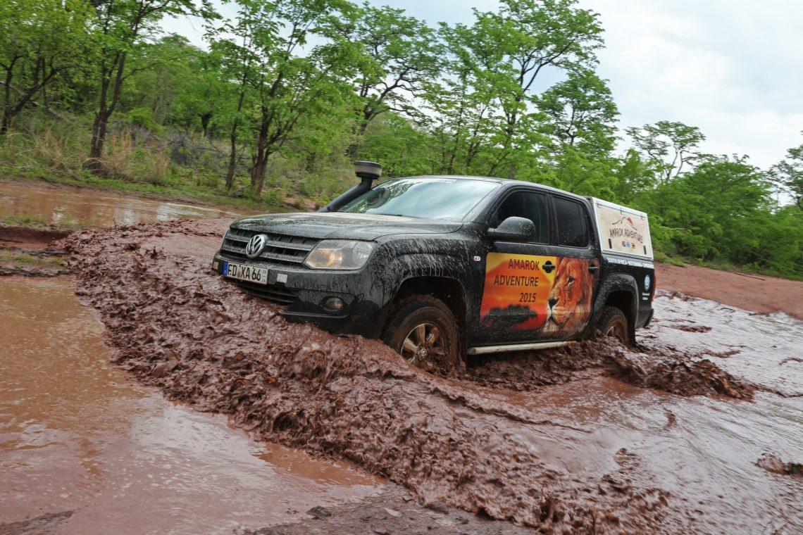 Im VW Amarok durch Simbabwe und Botswana