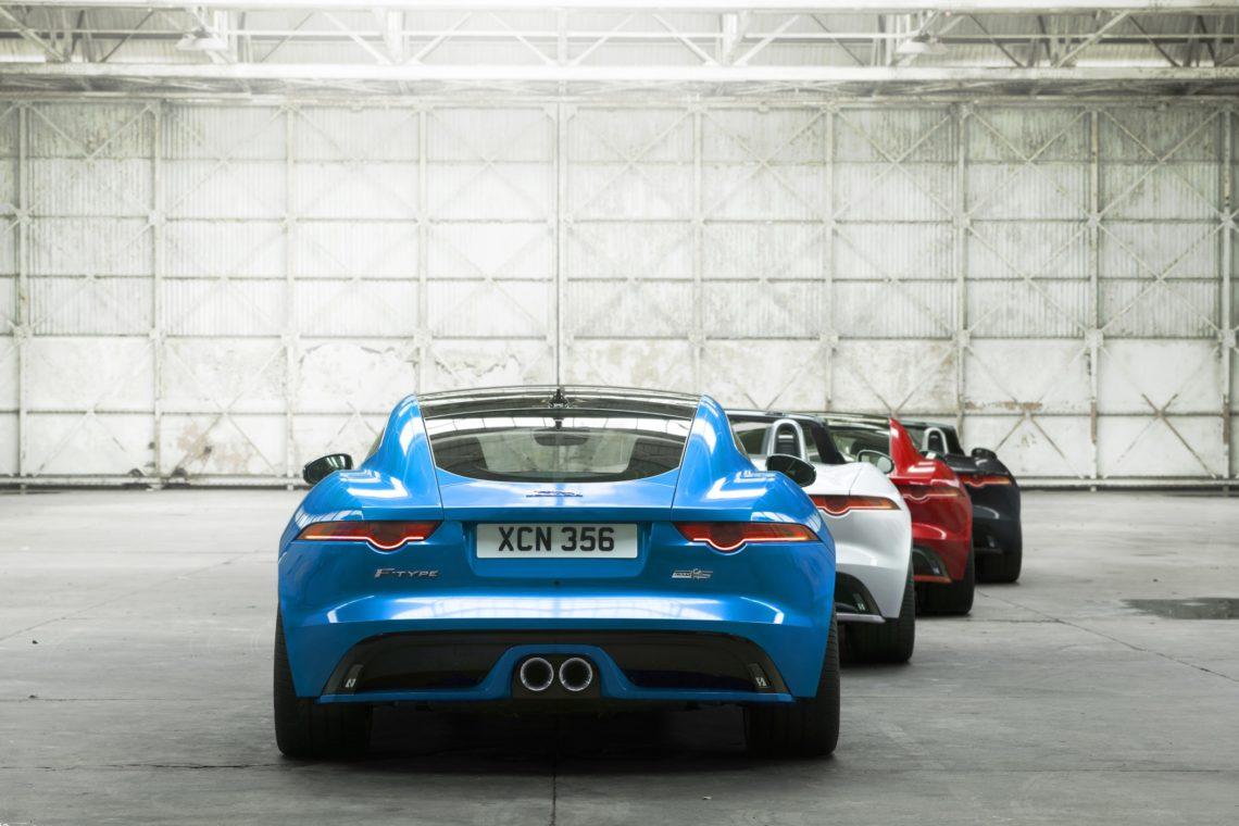 Jaguar F-Type S mit neuer British Design Edition