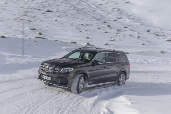 4x4Schweiz-Fahrbericht: Mercedes GLS 350d 4Matic,  Hochgurgl, Austria 2015