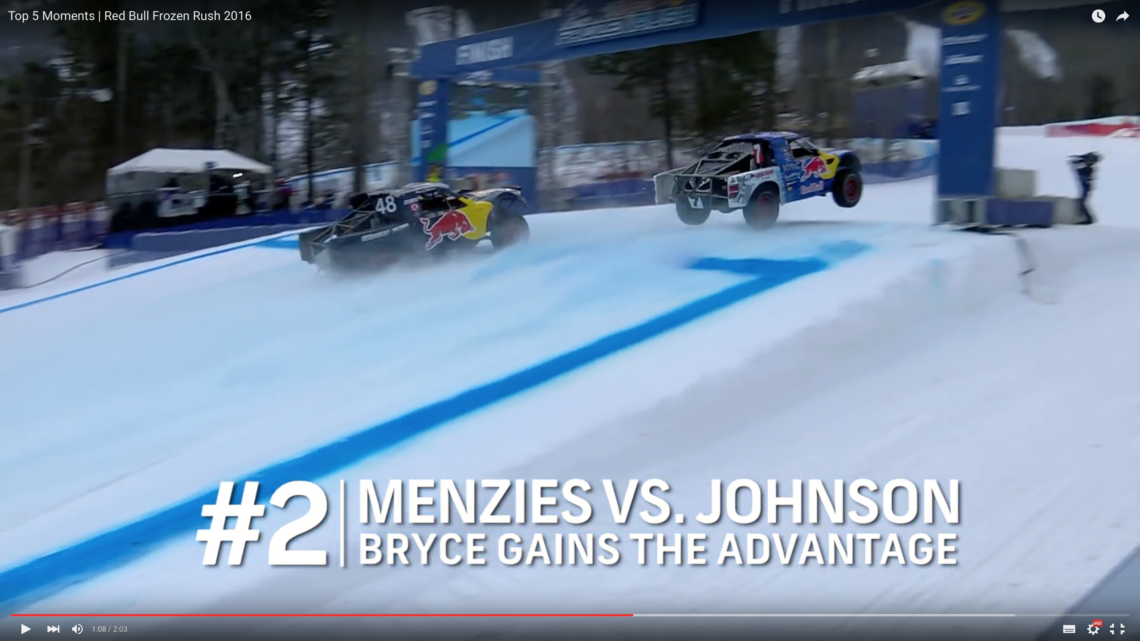 """Packendes Finale """"Red Bull Frozen Rush 2016"""""""