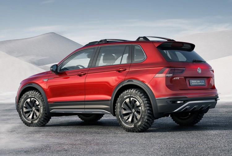 VW Tiguan GTE Active Concept 5