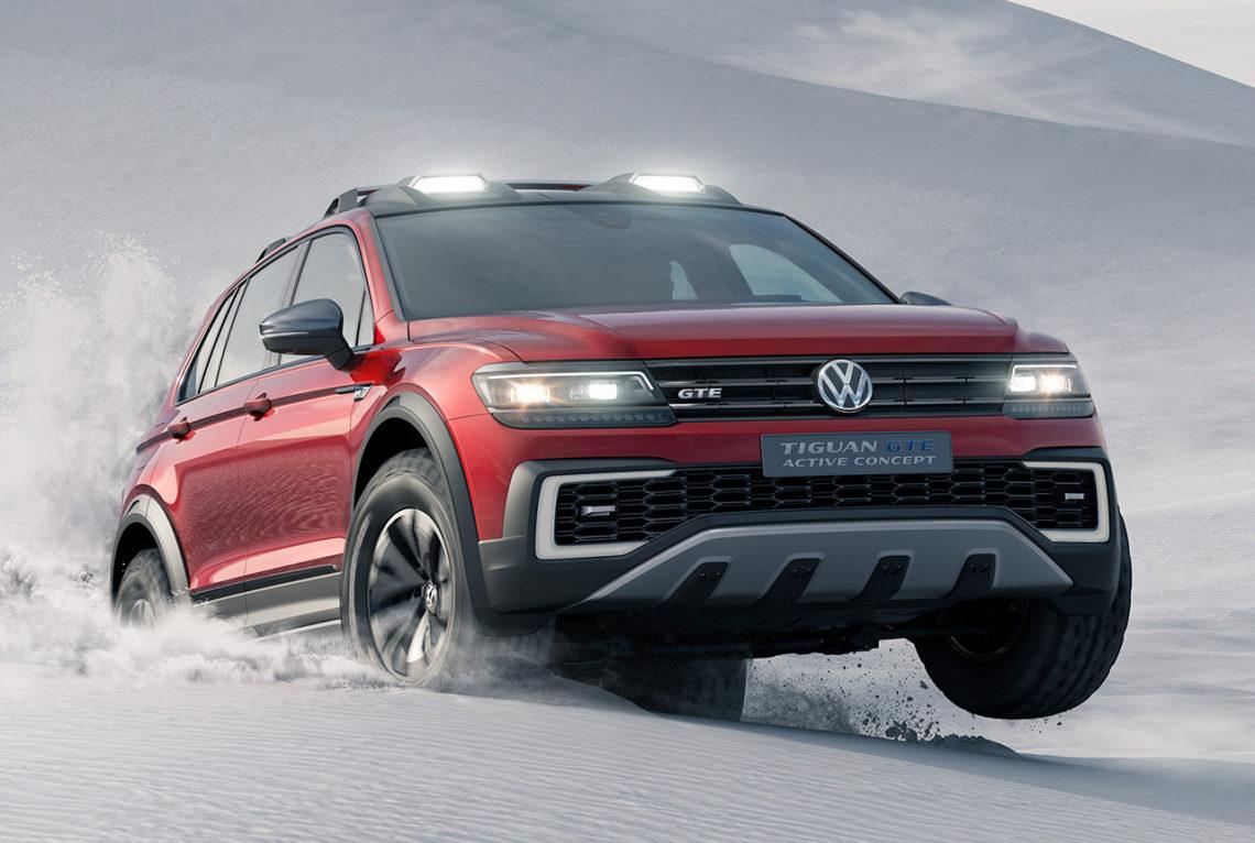 Der neue VW Tiguan GTE Active Concept