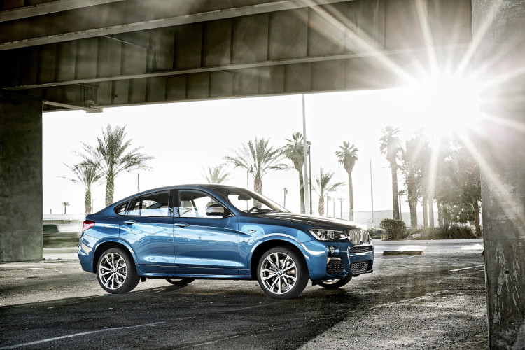 BMW X4 M40i Seitenansicht rechts