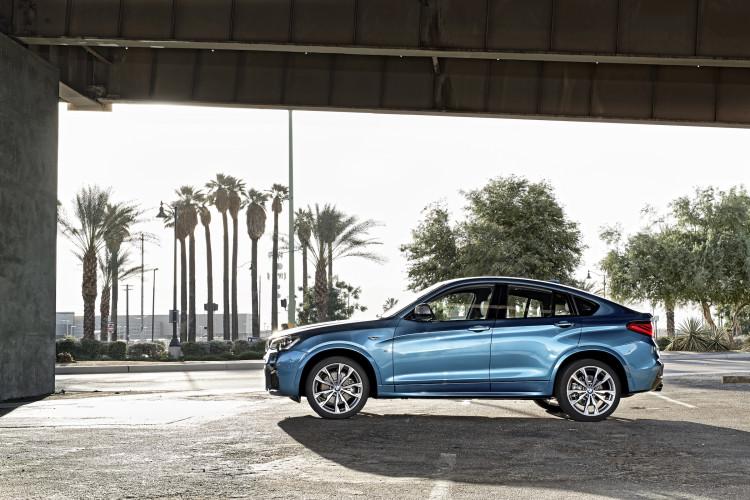 BMW X4 M40i Seitenansicht