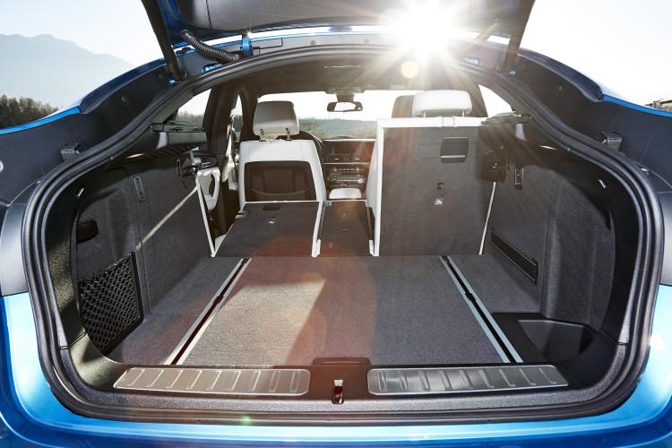 BMW X4 M40i Kofferraum, Ladevolumen