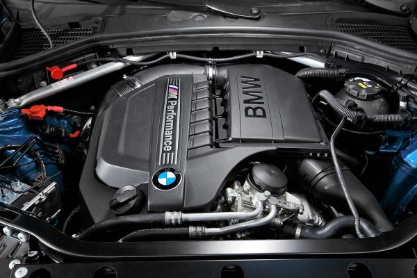 BMW X4 M40i Motorraum