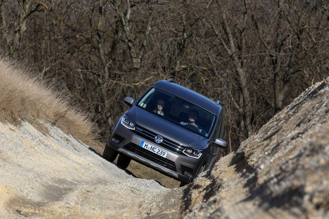 Fahrbericht: VW Caddy Alltrack 4Motion