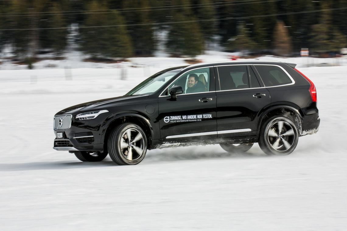 Volvo Winterfahrtraining 2016