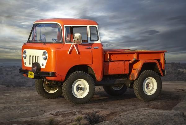 4x4Schweiz-News: Jeep Retro Studie FC 150, Frontansicht
