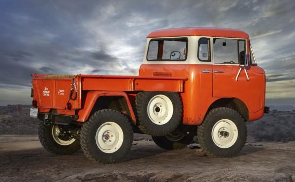 4x4Schweiz-News: Jeep Retro Studie FC 150, Heckansicht