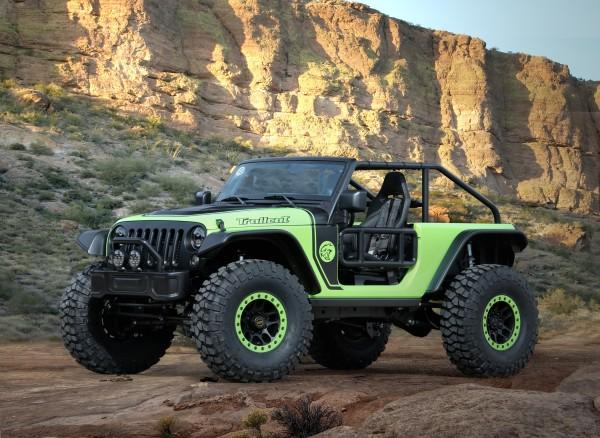 4x4Schweiz-News: Jeep Studie Trailcat, die wohl spektakulärste Studie seit langem von Jeep, Frontansicht