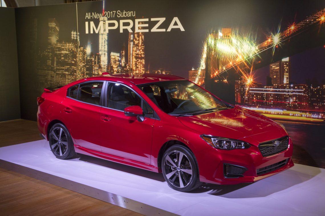 Subaru Impreza: Limousinen-Premiere in New York