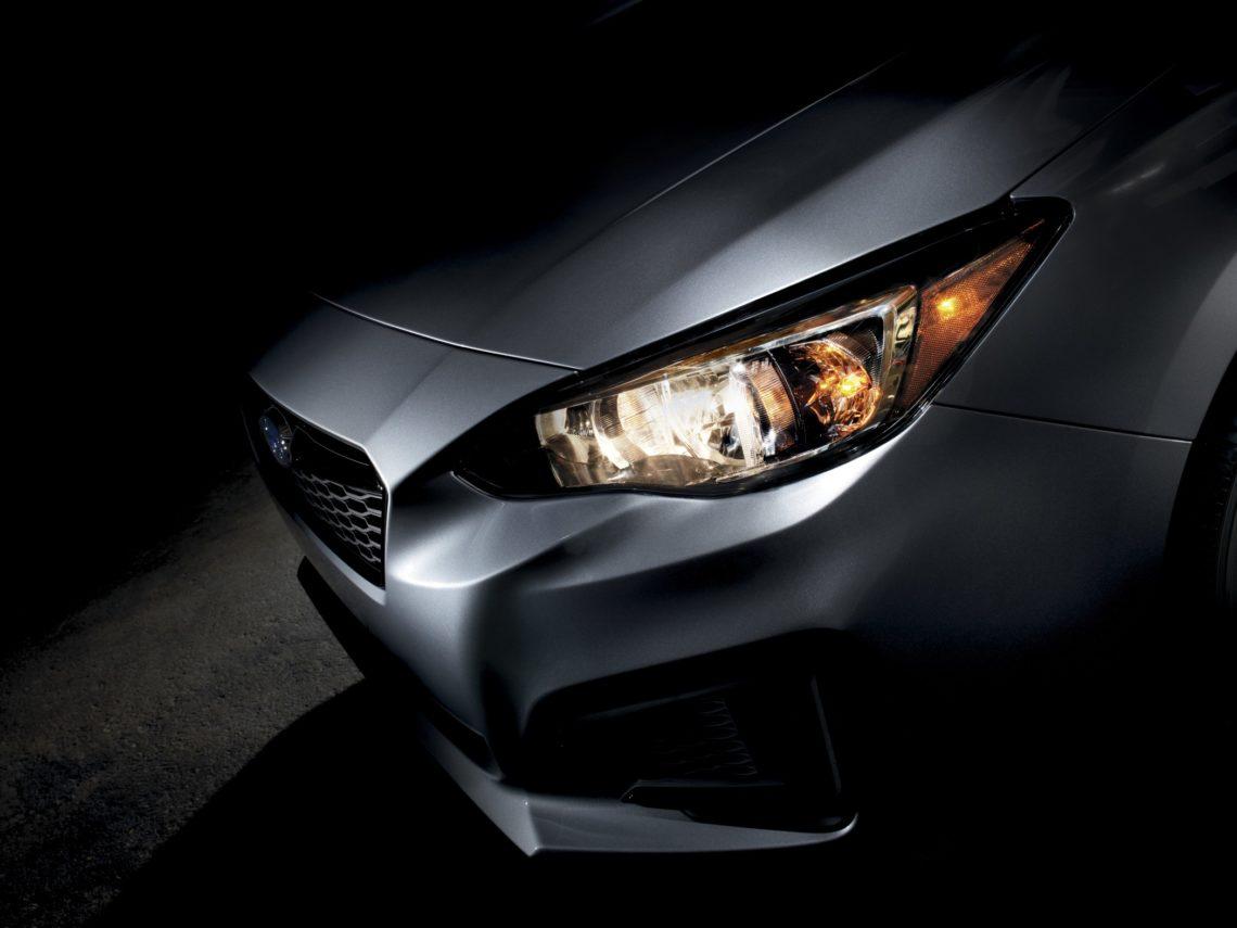Der neue Subaru Impreza steht in New York