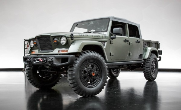 4x4Schweiz-News: Jeep Studie Crew Chief 715 concept