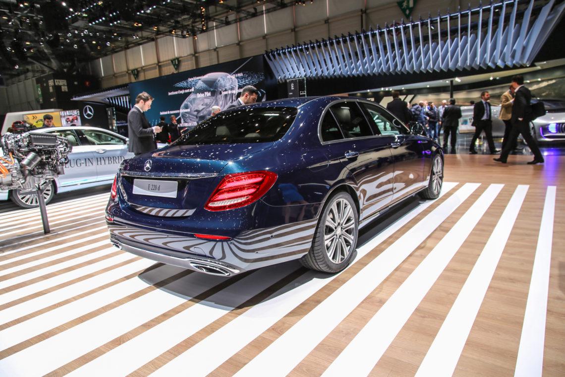 Die neue Mercedes E-Klasse. Eine Klasse besser.