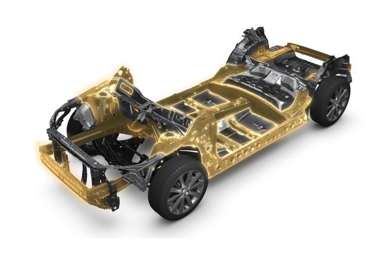 4x4Schweiz-News: Subaru führt mit der neuen Plattform eine neue Fahrzeugarchitektur