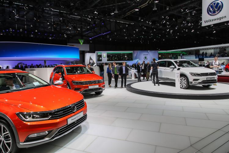 4x4Schweiz-News: Autosalon Genf 2016, VW Tiguan, VW Passat Alltrack