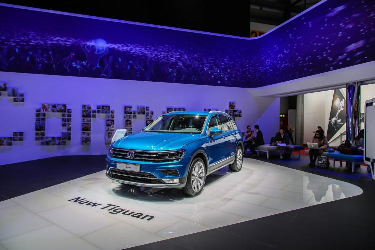 4x4Schweiz-News: Autosalon Genf 2016, VW Tiguan