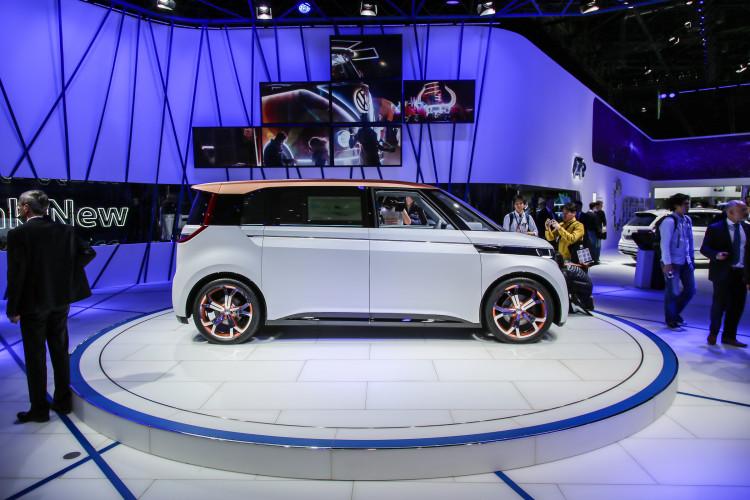 4x4Schweiz-News: Autosalon Genf 2016, VW Budd-e