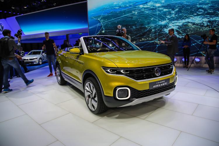 4x4Schweiz-News: Autosalon Genf 2016, VW T-Breeze