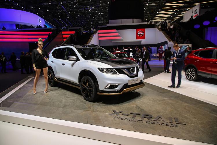 4x4Schweiz-News: Autosalon Genf 2016, Nissan Xtrail Special Edition