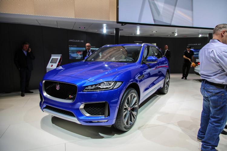 4x4Schweiz-News: Autosalon Genf 2016, Jaguar F-Pace