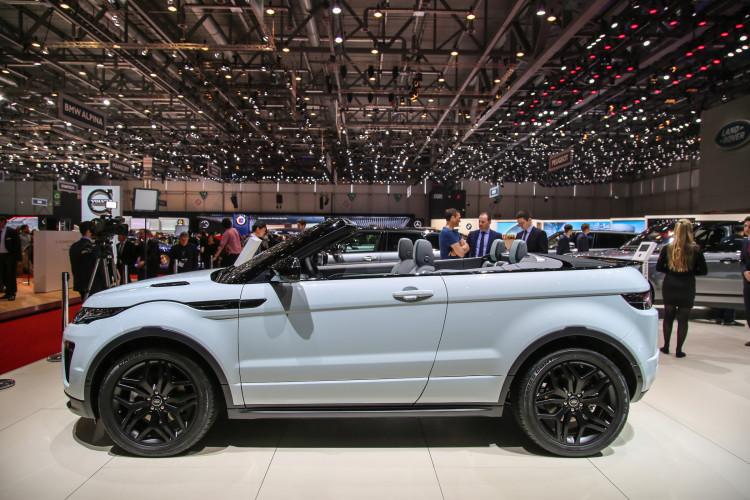 4x4Schweiz-News: Autosalon Genf 2016, Land Rover Range Rover Evoque Cabrio