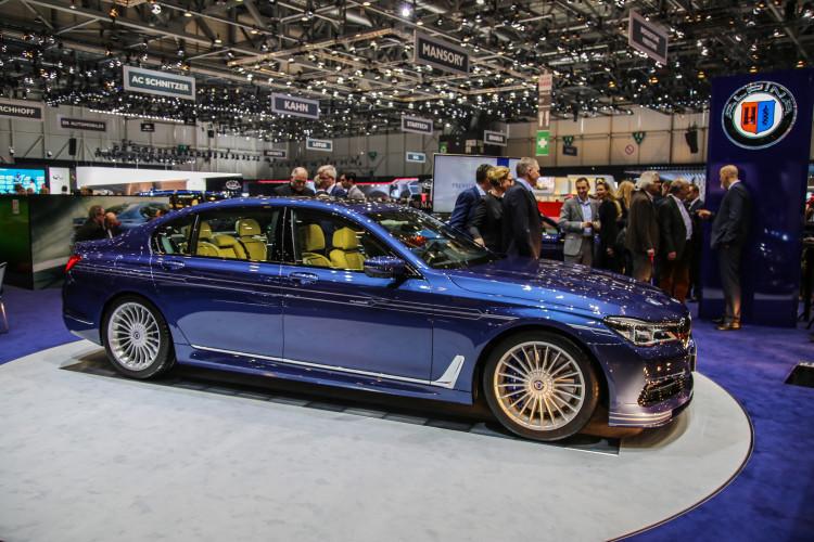 4x4Schweiz-News: Autosalon Genf 2016, BWM Alpina