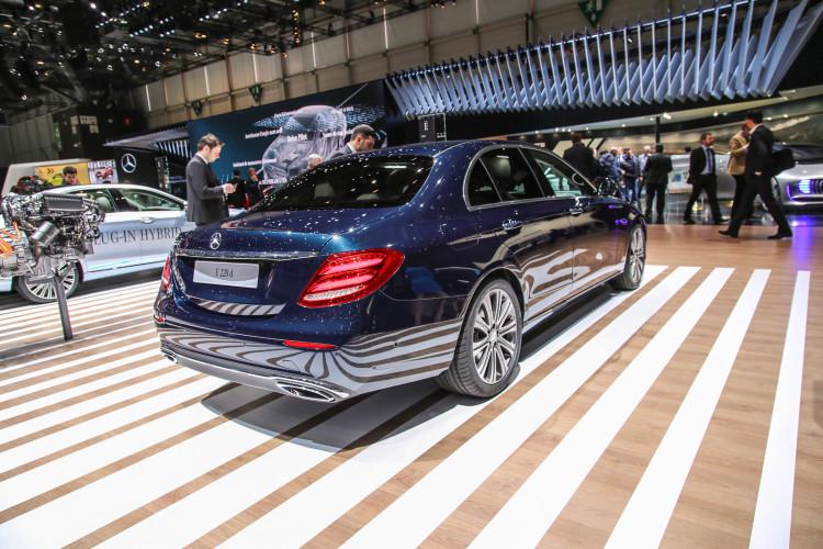 4x4Schweiz-News: Autosalon Genf 2016, Mercedes-Benz E-Klasse 4Matic