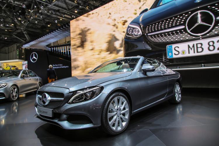 4x4Schweiz-News: Autosalon Genf 2016, Mercedes-Benz C-Klasse Cabrio 4Matic