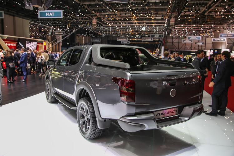 4x4Schweiz-News: Autosalon Genf 2016, Fiat Fullback Pick-up