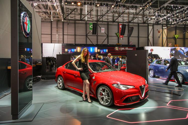 4x4Schweiz-News: Autosalon Genf 2016, Alfa Romeo Giulia