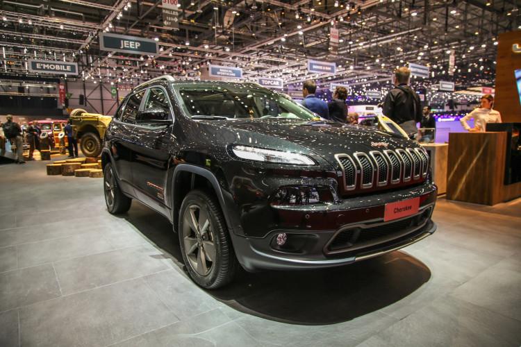 4x4Schweiz-News: Autosalon Genf 2016, Jeep Cherokee 75 Jahre Sonderedition