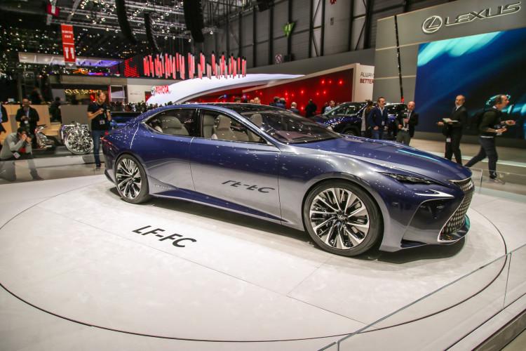 4x4Schweiz-News: Autosalon Genf 2016, Lexus LF-FC Allradantrieb