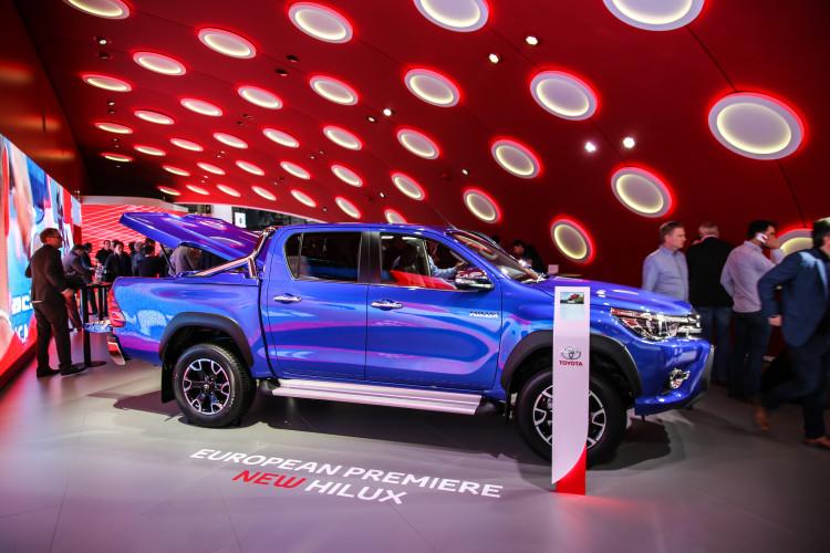 4x4Schweiz-News: Autosalon Genf 2016, Toyota Hilux