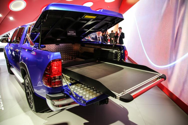 4x4Schweiz-News: Autosalon Genf 2016, Toyota HIlux Pick-up