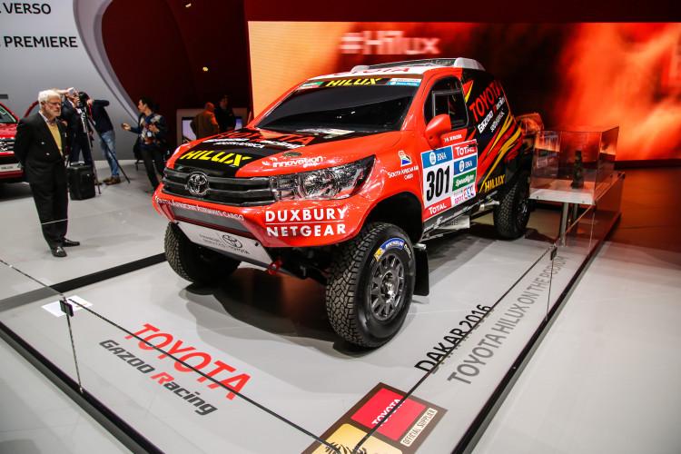 4x4Schweiz-News: Autosalon Genf 2016, Toyota Hilux Dakar