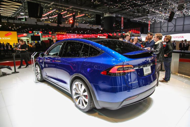 4x4Schweiz-News: Autosalon Genf 2016, Tesla Model X