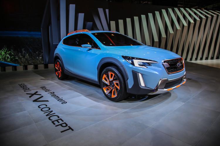 4x4Schweiz-News: Autosalon Genf 2016, Subaru XV Concept Front