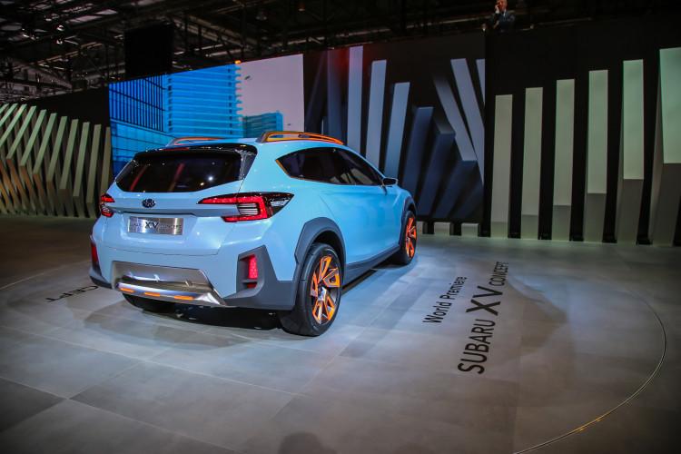 4x4Schweiz-News: Autosalon Genf 2016, Subaru XV Concept Heck