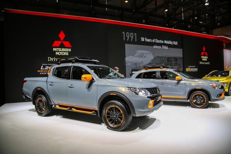 4x4Schweiz-News: Autosalon Genf 2016, Mitsubishi L200