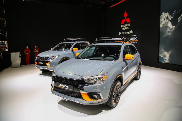 4x4Schweiz-News: Autosalon Genf 2016, Mitsubishi ASX