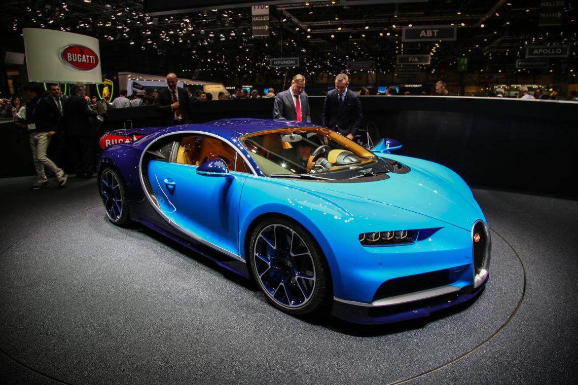 Bugatti Chiron: der rollende Superlativ
