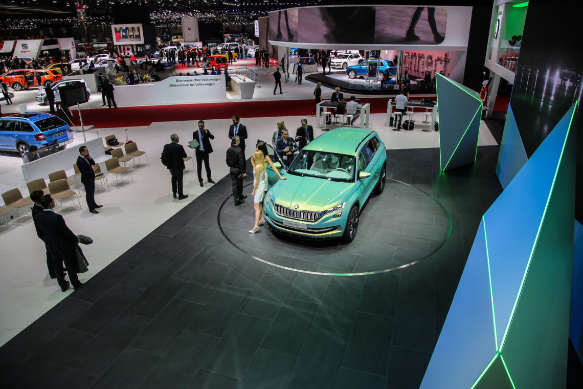 4x4Schweiz-News: Autosalon Genf 2016, Skoda Vision S
