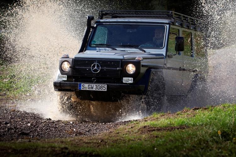 4x4Schweiz-News: Mercedes-Benz G-Klasse Geländewagen im Test für die Schweizer Armee